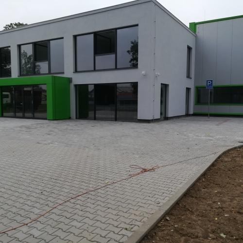 Administrativní budova a skladovací hala SARIV